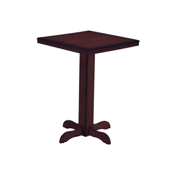 RAM Game Room Square Pub Table - Cappuccino