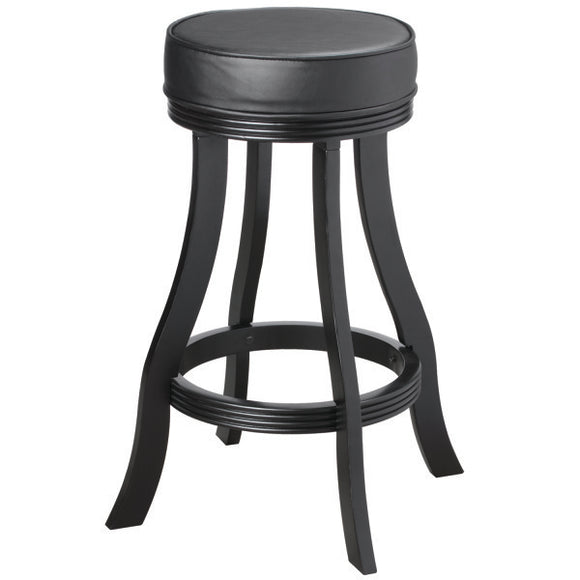 RAM Game Room Backless Barstool - Black
