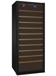 "32"" Wide Vite II Tru-Vino 277 Bottle Single Zone Black Right Hinge Wine Refrigerator"