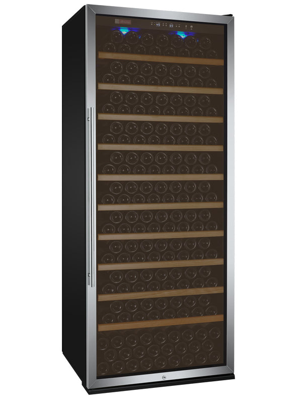 Allavino Vite Series 305 Bottle Single-Zone Wine Refrigerator - Stainless Steel Door with Right Hinge