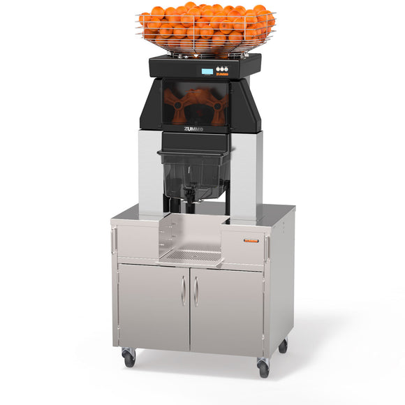 Zummo Citrus Juicer Z40 Nature Service Max Cabinet Plus