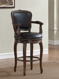 American Heritage Billiards Salvatore Stool Counter Height
