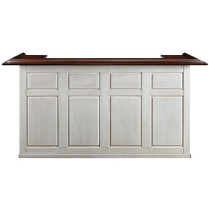 "RAM Game Room 84"" Bar - Antique White"