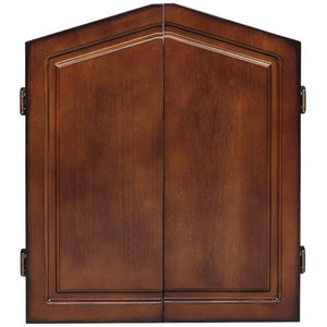 RAM Game Room Dartboard Cabinet - Chestnut