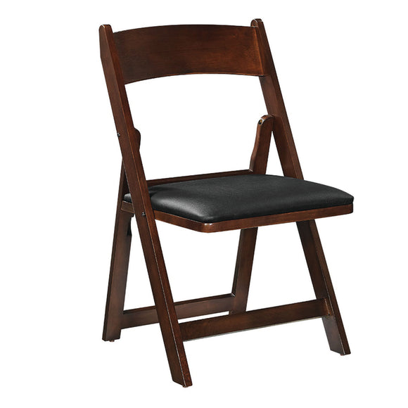 RAM Game Room Folding Game Chair - Cappuccino