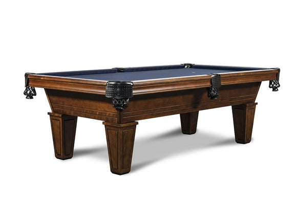 Iron Smyth The Hunchback 8' Slate Pool Table in Navajo