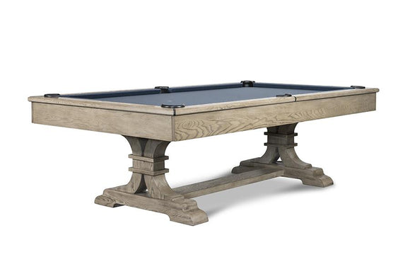Iron Smyth The Sissy 8' Slate Pool Table in Sand Finish