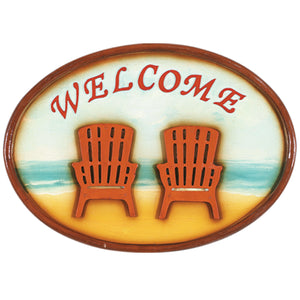"RAM Game Room ""Welcome"" Wall Art Sign"