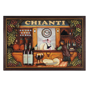 "RAM Game Room ""Chianti"" Wall Art Sign"