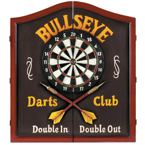 "RAM Game Room ""Bullseye Darts Club"" Dartboard Cabinet"