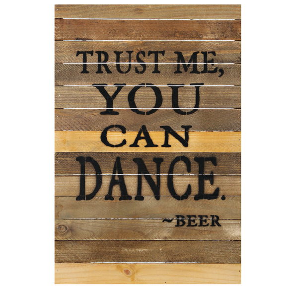 "RAM Game Room ""Trust Me You Can Dance"" Sign"