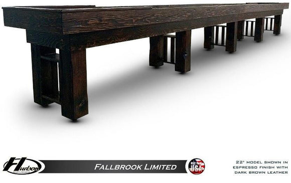 Hudson Fallbrook Limited 9'-22' with Custom Stain Options