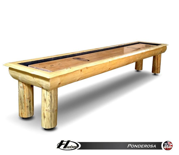 Hudson Ponderosa Shuffleboard 9'-22' with Custom Stain Options