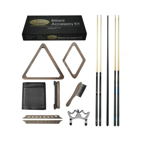 Imperial Gold Billiard Accessory Kit, Desert Chestnut