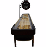 "Berner ""The Pro"" 14' Shuffleboard Table w/Elec. Scoring in Espresso"