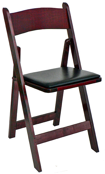 Kestell Hardwood Padded Folding Chair