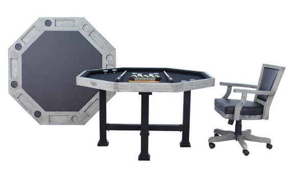 Berner Billiards The Urban 3 in 1 Table - Octagon 54