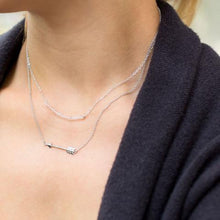 Load image into Gallery viewer, Aim High Arrow Necklace