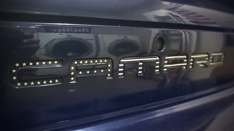 Chevy Camaro Berger Panel Decal