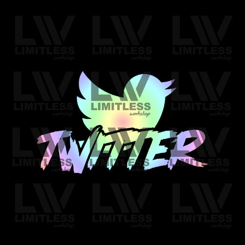 Twitter Decal Set