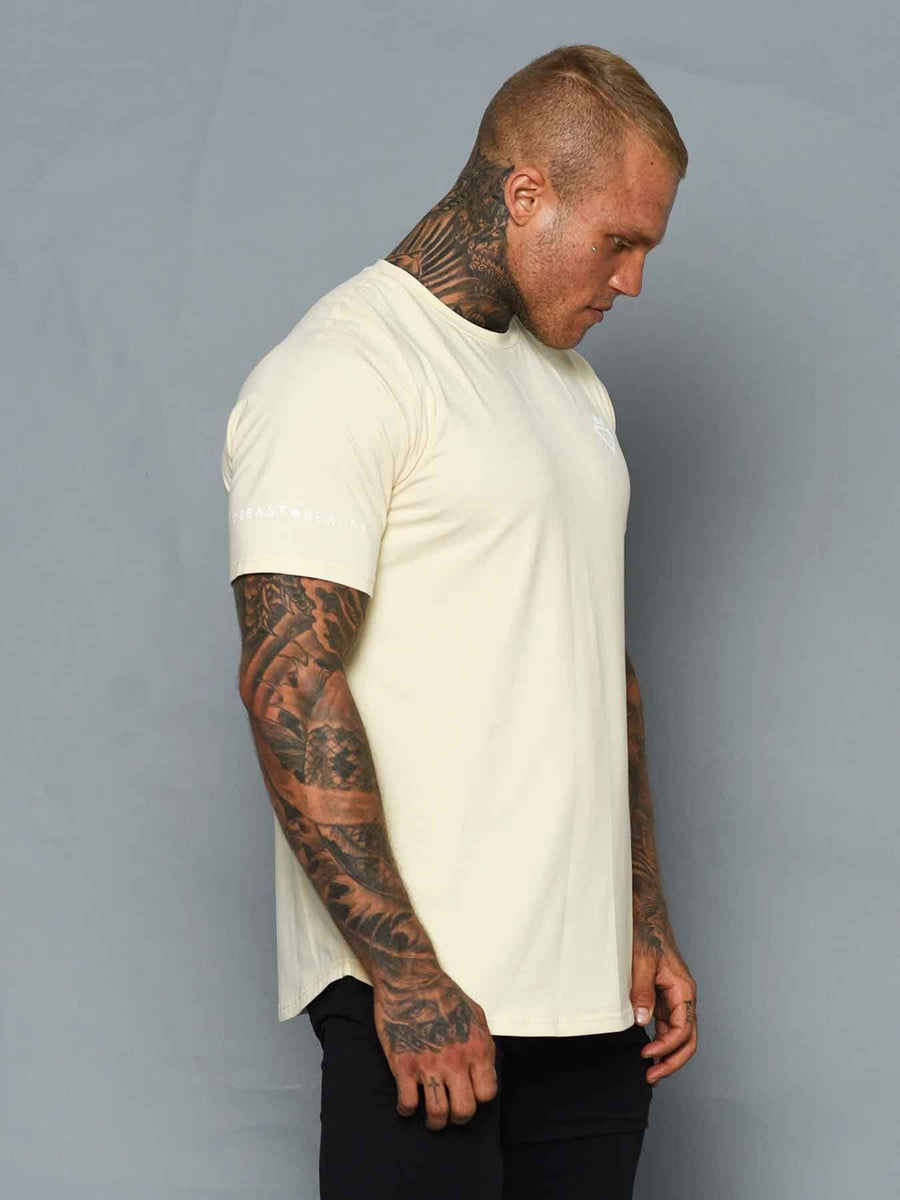 Tshirt in luxury cotton & spandex