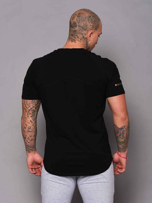Mens Aesthetic Tshirt - Black