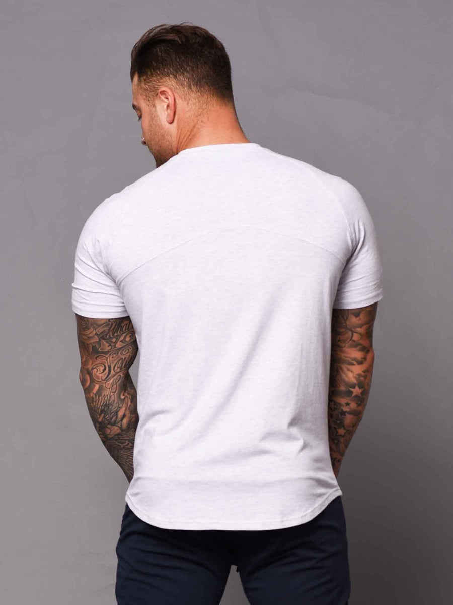 Mens Aesthetic Tshirt - Grey
