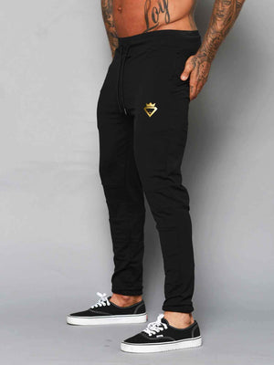 Mens Aesthetic Trackies - Black