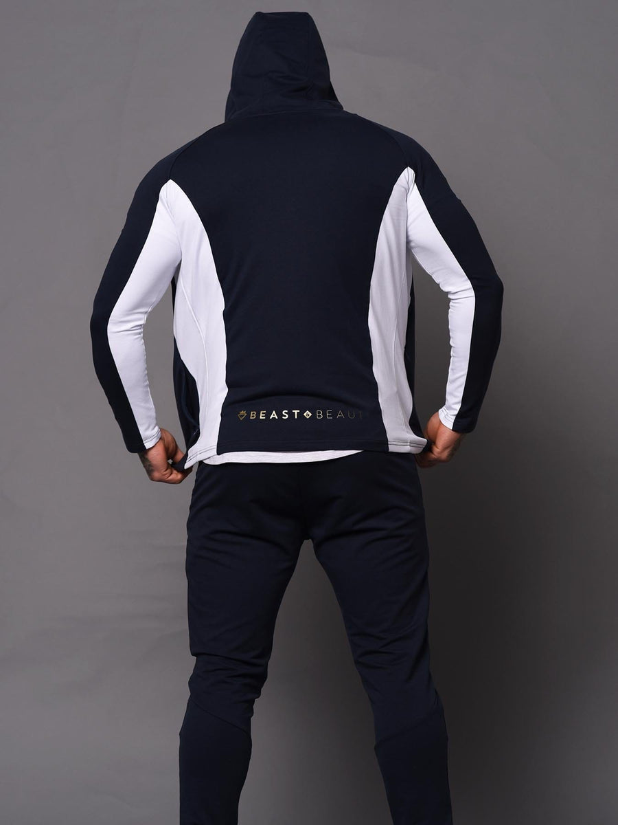 Mens Aesthetic Trackies - Blue
