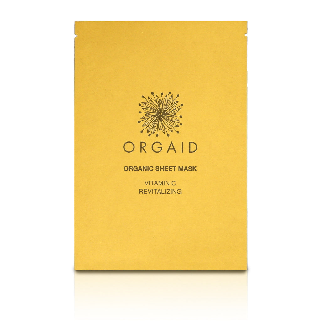 Vitamin C & Revitalizing Organic Sheet Mask (Single)