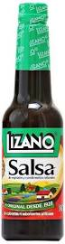 Lizano Salsa Sauce Bottle