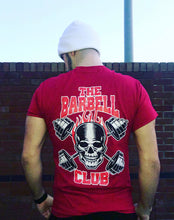 Load image into Gallery viewer, Skull and Barbells T-shirt