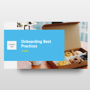 Onboarding & Transition