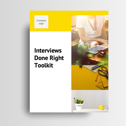 Interviews Done Right Toolkit
