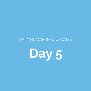 Daily Human Info Updates (Day 5)
