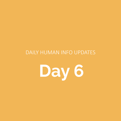 Daily Human Info Updates (Day 6)