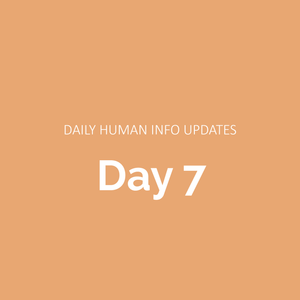 Daily Human Info Updates (Day 7)