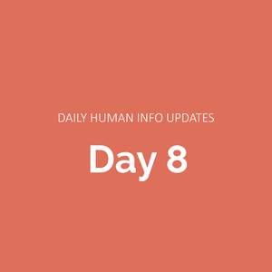 Daily Human Info Updates (Day 8)