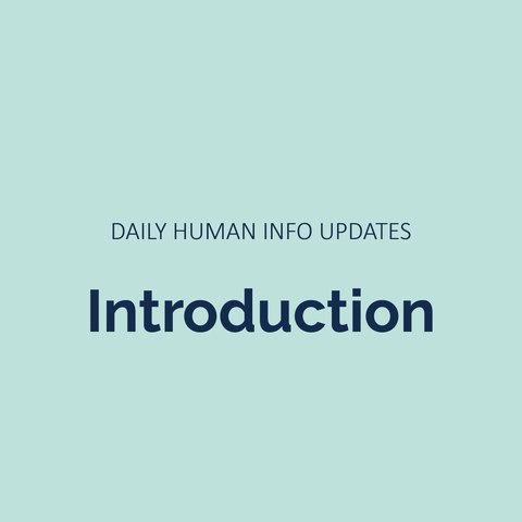 Daily Human Info Updates (Introduction)