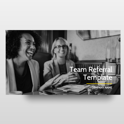 Team Referral Template