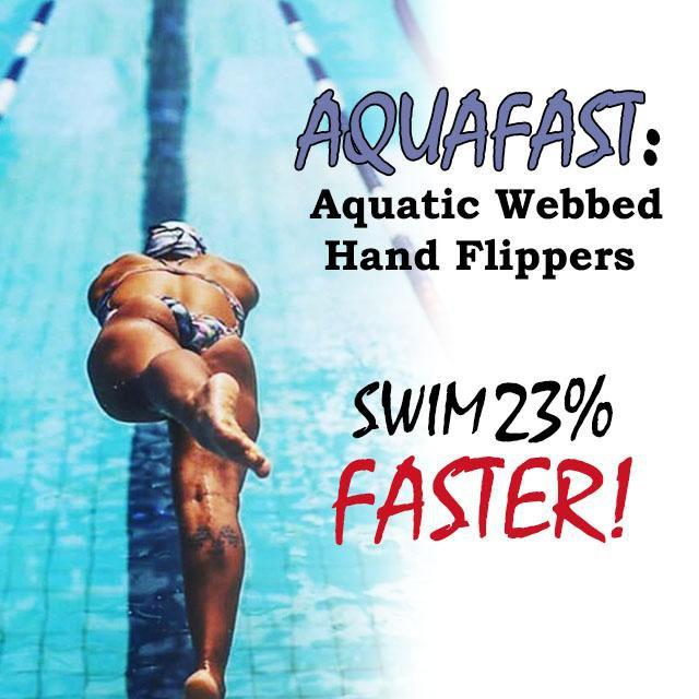 ShockCart  AQUAFAST™: New | Aquatic Webbed Hand Flippers (Pair)