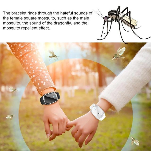 Bracelet Ultrasonic Mosquito Repellent For Adults and Children - Shock-Cart.co.uk