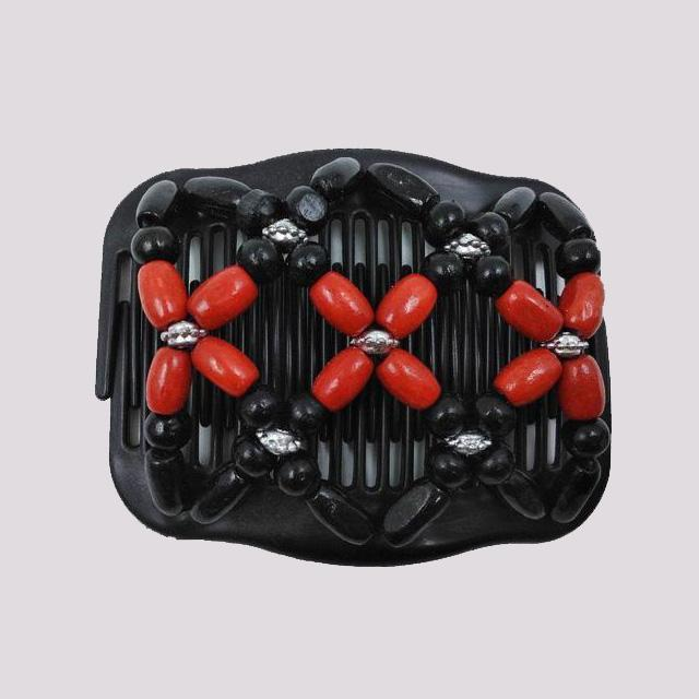 ShockCart  Black & Red CHYK™: Stretch Clip Combs