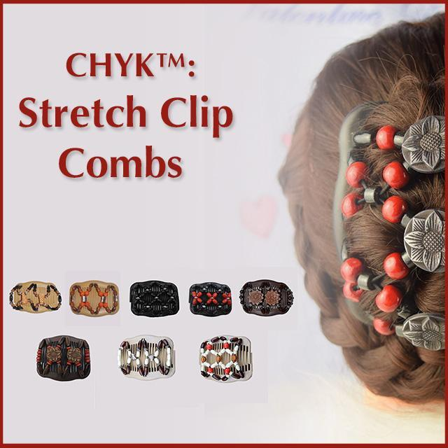 ShockCart  Gold CHYK™: Stretch Clip Combs