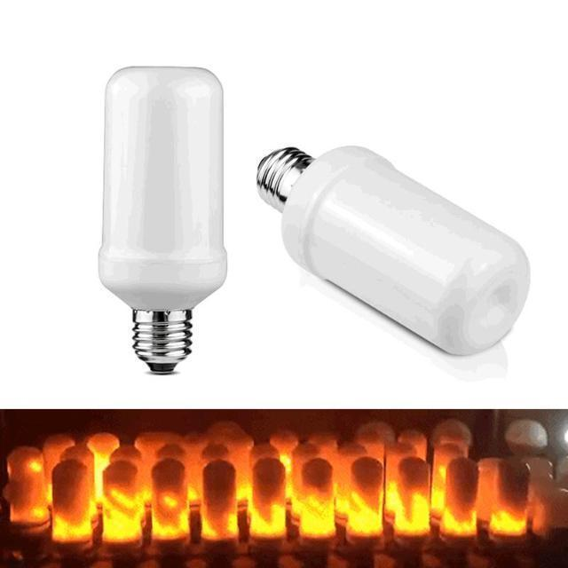 ShockCart Yellow COMBU™: LED FLAME FLICKER LIGHTBULB