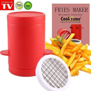 ShockCart  CRISPI™: 2-in-1 French Fries Cutter Machine