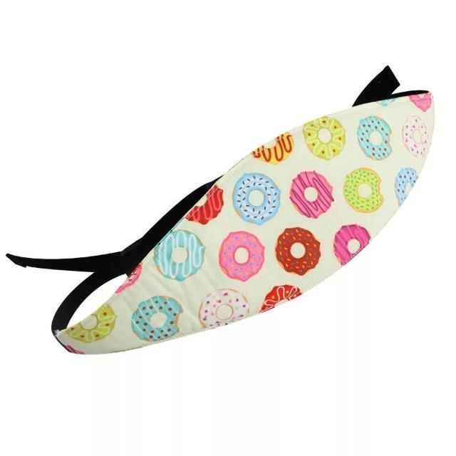 ShockCart  Colorful Donuts DRYM™: Elastic Car Seat Head Support