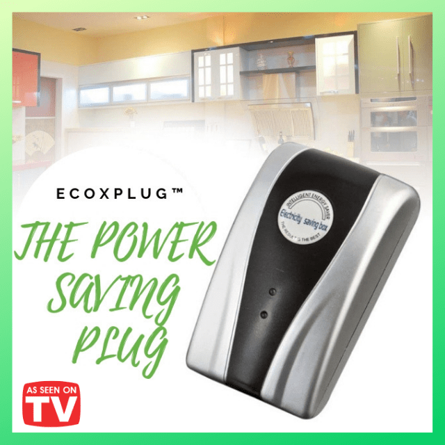 ShockCart  1 ECOXPLUG™ ECOXPLUG™: POWER SAVING PLUG