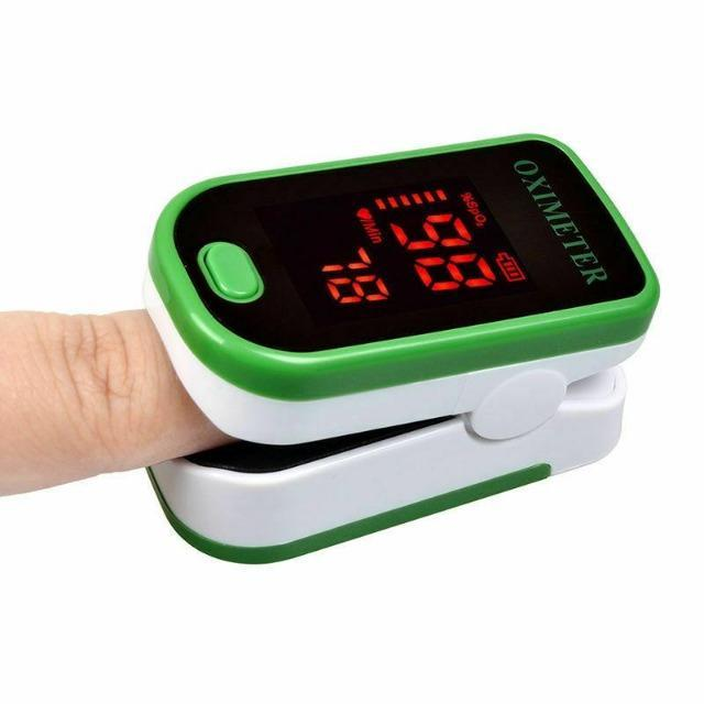 Green Finger Pulse Oximeter - Shock-Cart.co.uk