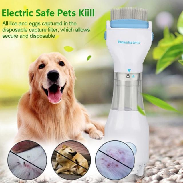 ShockCart  FLEACE™: Electric Flea & Lice Comb For Pets